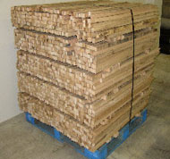 Oak Silt Fence Stakes - Contact us in Willacoochee, Georgia, for geotextile, erosion control, weed control, and nursery products.